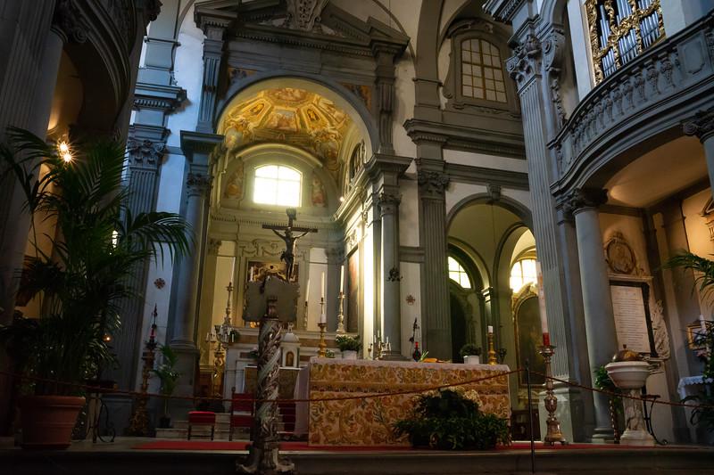 The church of Santa Felicita