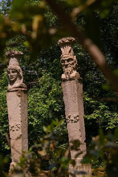 Parco dei Mostri, Bomarzo, Italy, May 2018