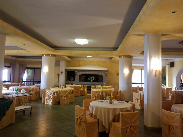 La Bastia hotel, Soriano nel Cimino, Italy, May 2018
