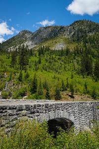 Stevens Canyon Road and ridgetops