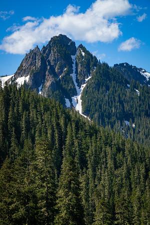 Mountains in Rainier National Park