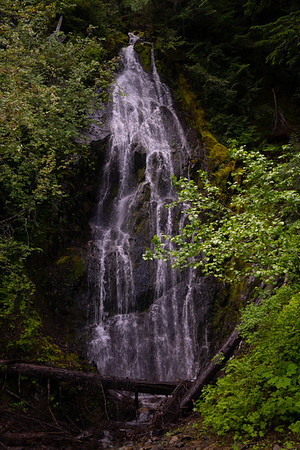 Waterfall near the Ohanapecosh River, WA