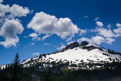 Peak in Rainier National Park