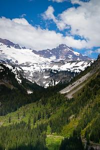 Rainier in early summer