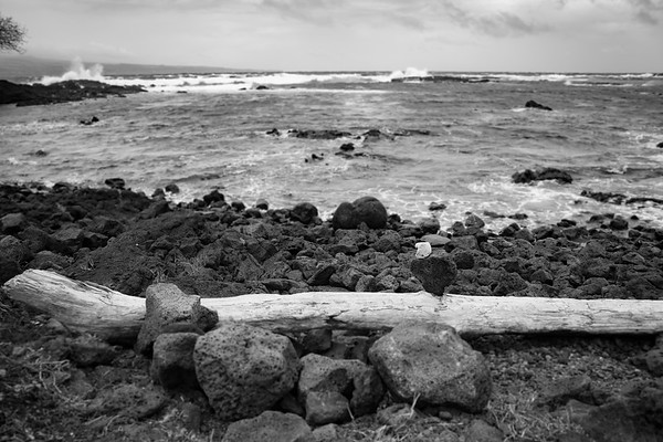 Lava Stone Eagle on Hawaii's Big Island