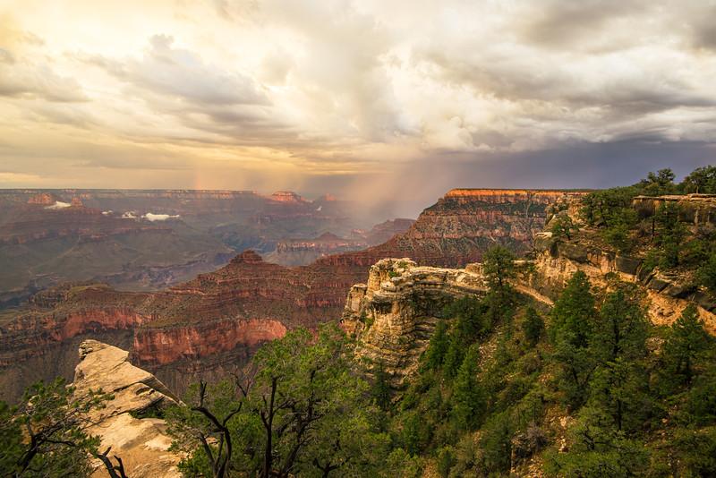 Grand Canyon, south rim;  Arizona