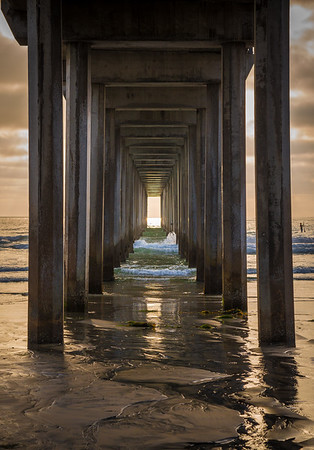 Scripps Pier, La Jolla; California