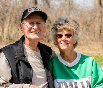 Lud and Helen Lekson, April 13, 2015