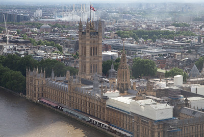 Parliament, from the London Eye