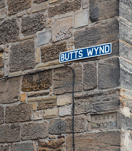 Street in St Andrews, Scotland
