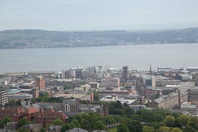 Dundee, Scotland. From Dundee Law