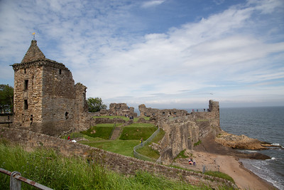 Ruined castle, St Andrews