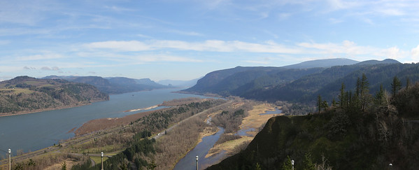 Columbia River Gorge from the Vista House