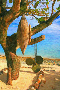 Tahitian Fishing Tree