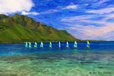 Sailboats Awaiting