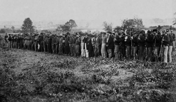 Confederate Cav POW's