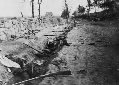 fredericksburg trench study