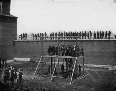 Lincoln conspirators hanging #1