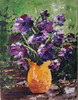 """Peonies"" ©2008 Susie Morrell oil on canvas 16"" x 20"""