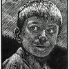 """Jack""<br /> wood engraving 4""x5"" <br /> edition of 10: 2012"