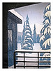 "ALASKA WINTER<br /> color woodcut<br /> 8""x10.5""<br /> edition of 20, 2006"
