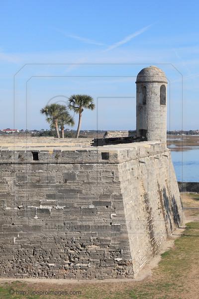 Castillo de San Marcos National Monument, St Augustine, Florida