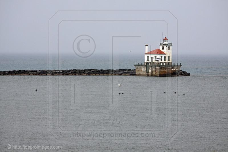 Oswego Harbor West Pierhead Lighthouse, NY