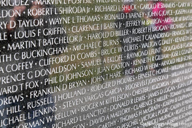 Vietnam Veterans Memorial:  Memorial Wall
