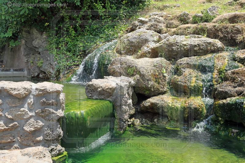 Hot Water Cascade