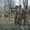Vietnam Veterans Memorial:  Three Servicemen Statue
