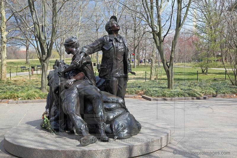 Vietnam Veterans Memorial:  Vietnam Women's Memorial