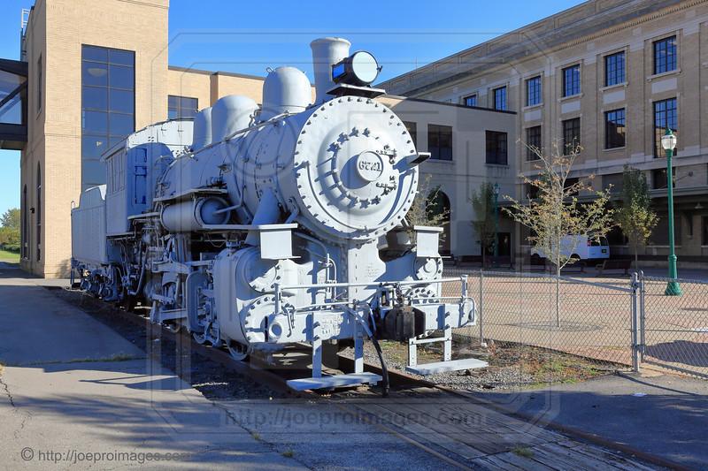 New York Central Locomotive #6721