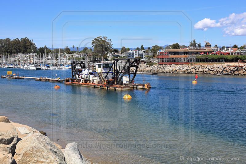 Old Santa Cruz Harbor Dredge Seabright