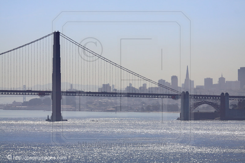 Golden Gate Bridge and San Francisco Skyline