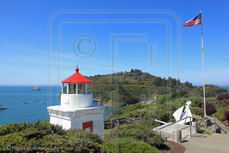 Trinidad Head Memorial Lighthouse with Anchor