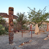 Totem Pole at Chisos Mining Co. Motel