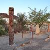 Totem Pole at Chisos Mining Co. Motel