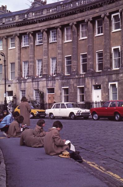 visit to Bath 1977