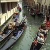 Gondolas loading tourists