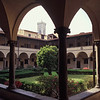 Cloister of San Lorenzo, Campanile in distance