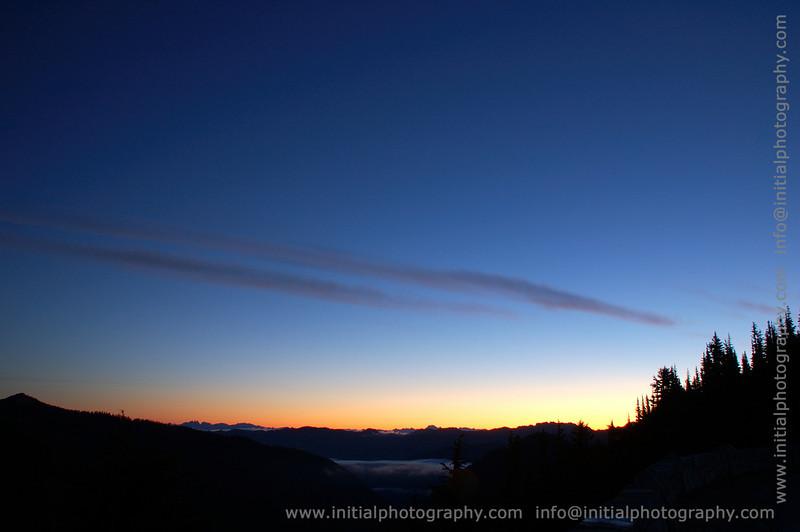 Sunrise from Sunrise, Mountain Rainier National Park