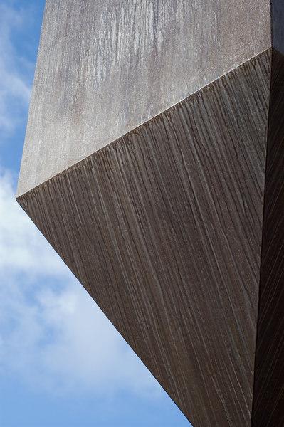 Barnett Newman's Broken Obelisk in Red Square on the University of Washington Campus