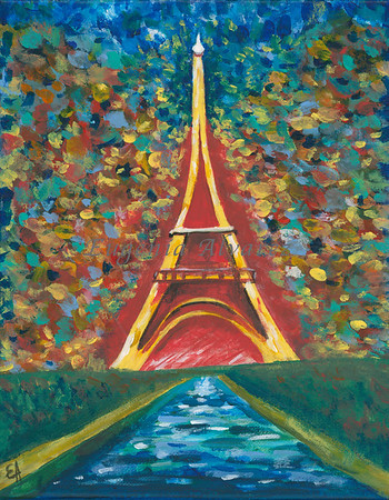 Eiffel Tower - Acrylic