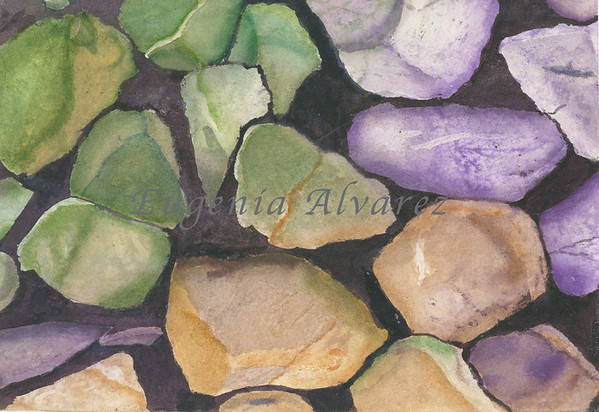 SomeRocks -  Watercolor
