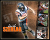 <center>4 Photos - 16x20 Customized Metallic Print $59.99 plus shipping and tax Orioles Football v22
