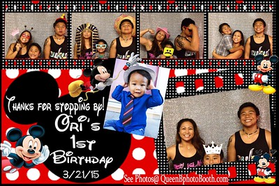 Ori's 1st Birthday