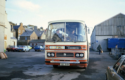 Peace Kirkwall GBS84N Stromness Pier Sep 82