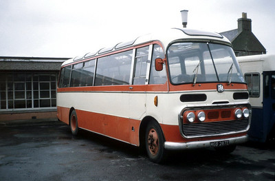 Peace Kirkwall MGB287E Kirkwall Bus Stn Sep 82