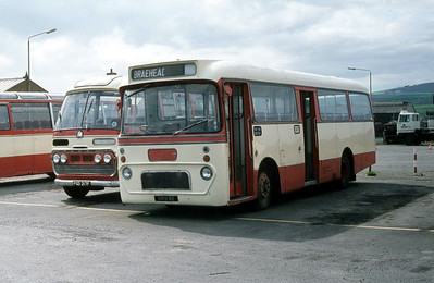 Peace Kirkwall  GRS8E Kirkwall Bus Stn Sep 82