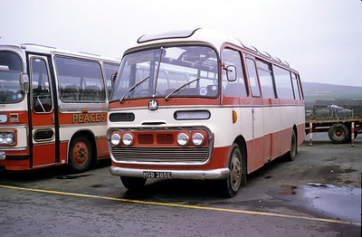 Peace Kirkwall MGB285E Kirkwall Bus Stn Sep 82